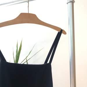 Mörkblå maxiklänning med djup rygg och slits i sidan som jag själv sytt. Kan mötas upp i Linköping annars betalar köparen för frakten.