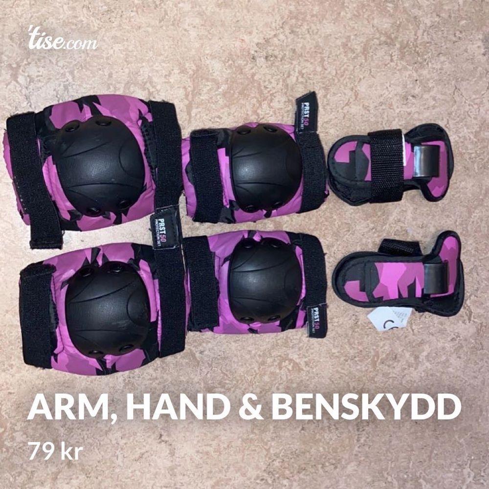 Skydd som kan användas till alla sporter. Använda 1 gång original pris 200kr. Storlek: one size. Övrigt.