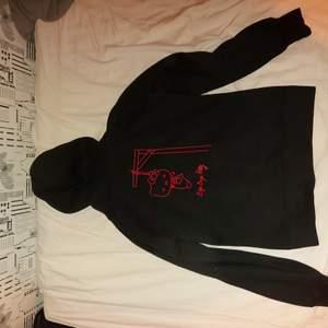 Medium stor eller oversized hoodie, hello kitty print
