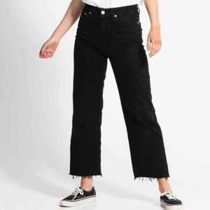 Snygga raka jeans från lager 157! Väl använda, men i bra skick. Kontakta för mer bilder. Original pris: 300 kr!