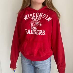 Super snygg trendig hoodie från Wisconsin universet! Uppskattad storlek M. Buda i kommentarerna! Startpris:100kr