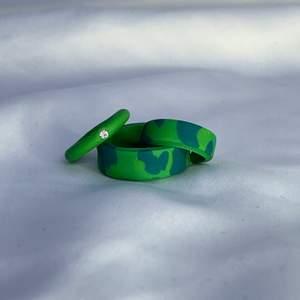 🤍Enfärgad simpel ring: 30kr/st ink frakt                            🤍Fancy/Unik ring: 45kr/st ink frakt                                     🤍 3 st(45kr/st) för 110kr ink frakt                                       🤎Material: fimo soft & fimo glaze                                        🤎Process: Skapad för dig. Formad och slipad för att passa ditt finger❣️                                                                🖤VIKTIGT!!! Ditt mått: Mät med ett måttband eller en bit tråd(jämför med linjal), måttet skriver du i DM med din önskade modell och färg combo                              Exempel: 66 mm, cowprint, Basfärg-254 Accent färg-sand