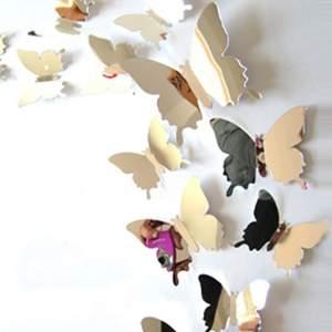 spegel fjärilar som aldrig är anvönda