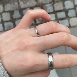 Säljer denna hela oanvända ringen i rostfrittstål:) 20kr+11krfrakt❤️