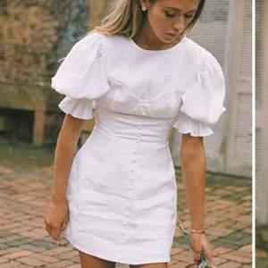 Helt ny, jättefin klänning från Sabo skirt. I linnematerial och inte ett dugg genomskinlig 😛 Endast testad med prislapp kvar, nypris 800 kr. SLUTSÅLD på hemsidan 💃🏼