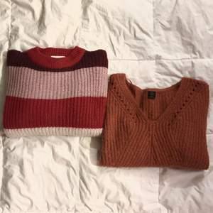 Märke och storlek, från vänster: Monki, M Urban Outfitters, XS  100kr/styck och eller båda för 160kr