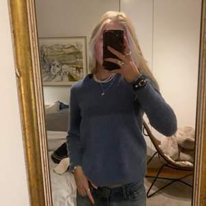 Blå stickad tröja från Dobber i S🖤💙