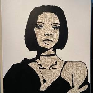Säljer min fina Rihanna kanvastavla gjord av mig, denna unika tavla har jag lagt ned massor med tid på och lagt allt min kreativitet på den. Måtten är 61x50, köp direkt för 360 kr. Vid fler intresserade blir det budgivning🥰 (köparen står för frakt)