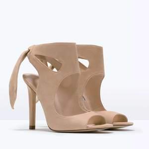 Zara beige heels