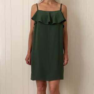 Green summer dress from Zara. Material is very nice and no need to iron it.