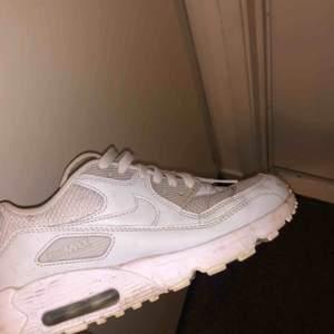 Nike air max, färgen är grå/ljusblå