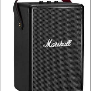 Trådlös Bluetooth-högtalare med 20 timmars batteritid. Otrolig bas och ljud.  Inköpt i nov 2020.  Endast upp-packad och testad, ligger kvar i kartongen. Nypris 3490kr.   https://www.mediamarkt.se/sv/product/_marshall-tufton-bluetooth-h%C3%B6gtalare-svart-1316260.html?gclid=CjwKCAiA-_L9BRBQEiwA-bm5fnjxl9_OTCcdB49Nxvc5zQv7nAEc7J0PtlOIi5vFIklg4thahZ-95BoC-xoQAvD_BwE&gclsrc=aw.ds
