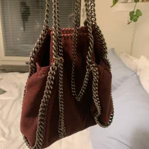 I intresse koll på min Äkta Stella McCartney väska mini falabella.kan även byta med en annan färga💕budet är på 4550