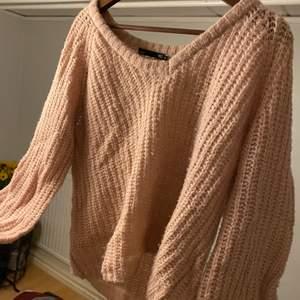 Rosa stickad tröja från lager 157, storlek s