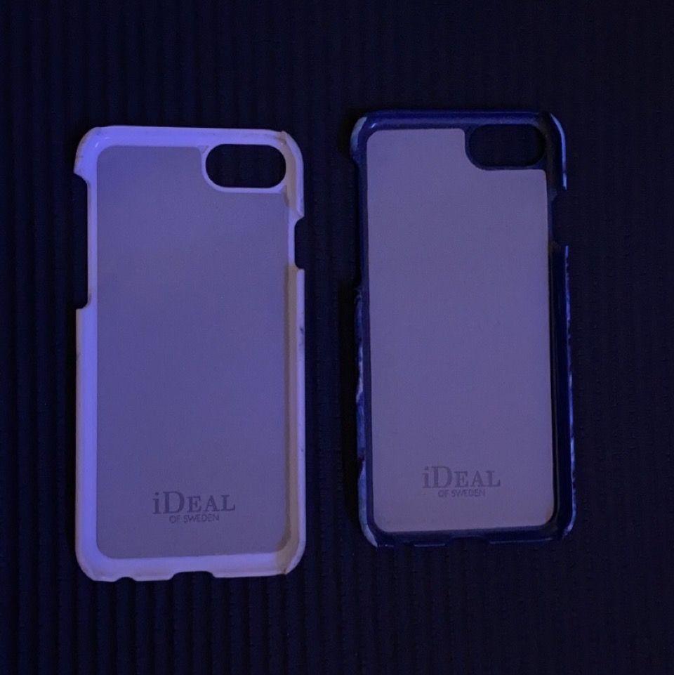 iPhone 7 mobilskal från Ideal of Sweden , 50kr/st🤍🤍🤍❣️❣️❣️ENDAST DEN VITA FINNS KVAR!. Accessoarer.