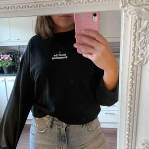 Svart sweater från Zara. Frakt ingår 🥰